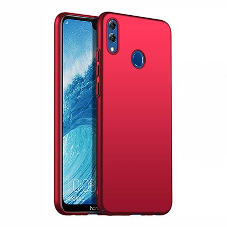 Etui na telefon Huawei Honor 8X - Slim MattE - Czerwony.