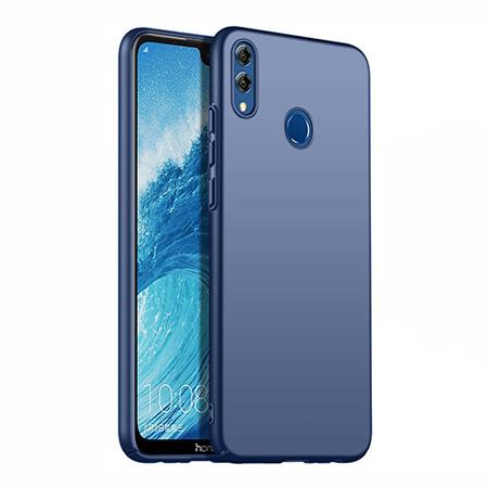 Etui na telefon Huawei Honor 8X - Slim MattE - Granatowy.