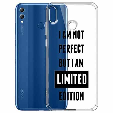 Etui na Huawei Honor 8X - I Am not perfect…