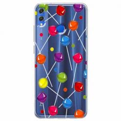 Etui na Huawei Honor 8X - Kolorowe lizaki.