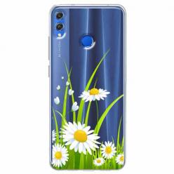 Etui na Huawei Honor 8X - Polne stokrotki.