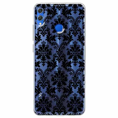 Etui na Huawei Honor 8X - Damaszkowa elegancja.