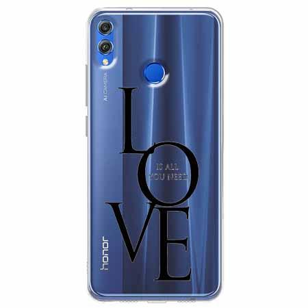 Etui na Huawei Honor 8X - All you need is LOVE.