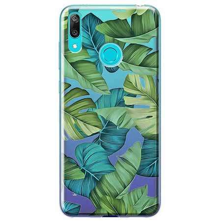 Etui na Huawei P Smart 2019 - Egzotyczne liście