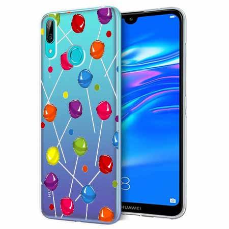 Etui na Huawei P Smart 2019 - Kolorowe lizaki.