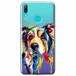 Etui na Huawei P Smart 2019 - Watercolor pies.