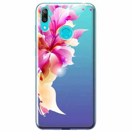 Etui na Huawei P Smart 2019 - Bajeczny kwiat.