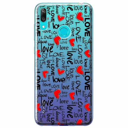 Etui na Huawei P Smart 2019 - Love, love, love…