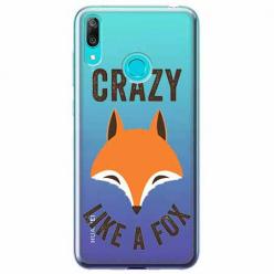 Etui na Huawei P Smart 2019 - Crazy like a fox.