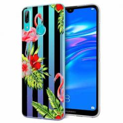 Etui na Huawei P Smart 2019 - Opowieści flamingów.