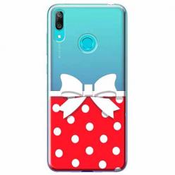Etui na Huawei P Smart 2019 - Gustowna kokardka.