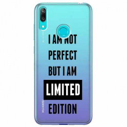 Etui na Huawei Y7 2019 - I Am not perfect…