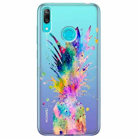 Etui na Huawei Y7 2019 - Ananasowa eksplozja.