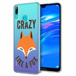 Etui na Huawei Y7 2019 - Crazy like a fox.