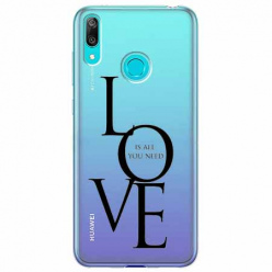 Etui na Huawei Y7 2019 - All you need is LOVE.