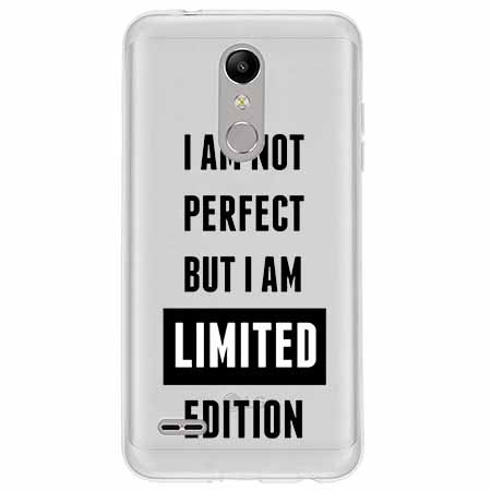 Etui na LG K11 - I Am not perfect…