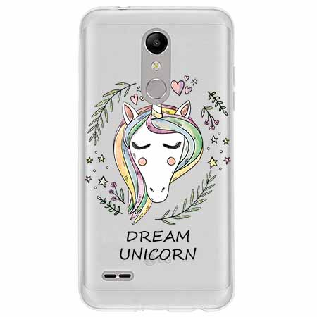 Etui na LG K11 - Dream unicorn - Jednorożec.