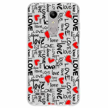 Etui na LG K11 - Love, love, love…
