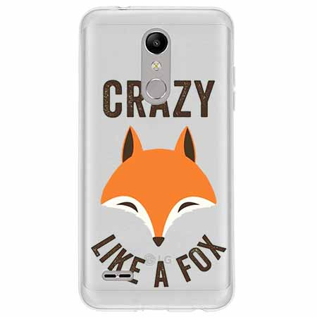Etui na LG K11 - Crazy like a fox.