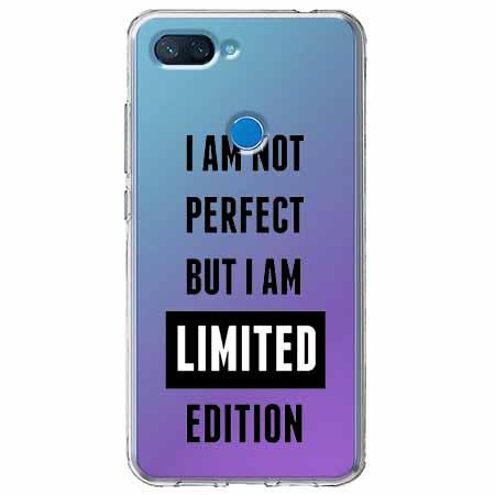 Etui na Xiaomi Mi 8 Lite - I Am not perfect…