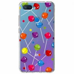 Etui na Xiaomi Mi 8 Lite - Kolorowe lizaki.