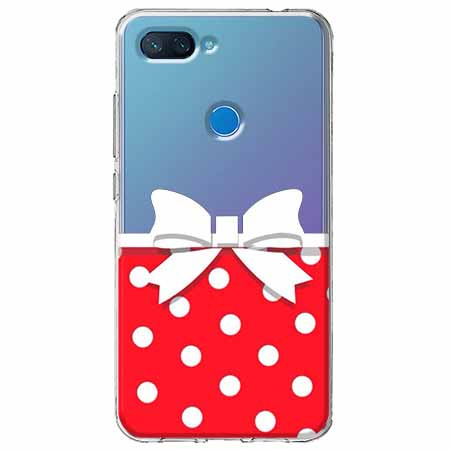 Etui na Xiaomi Mi 8 Lite - Gustowna kokardka.