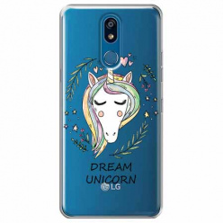 Etui na LG K40 - Dream unicorn - Jednorożec.