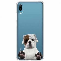 Etui na Huawei Y6 2019 - Słodki szczeniaczek.
