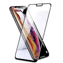 Huawei P20 Lite hartowane szkło 5D Full Glue - Czarny