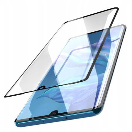 Galaxy A40 hartowane szkło 5D Full Glue - Czarny