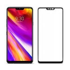 LG G7 ThinQ hartowane szkło 5D Full Glue - Czarny