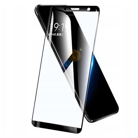 Galaxy A6 2018 hartowane szkło 5D Full Glue - Czarny