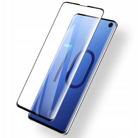 Galaxy S10 hartowane szkło 5D Full Glue - Czarny