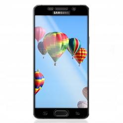 Galaxy A5 2016 hartowane szkło 5D Full Glue - Czarny