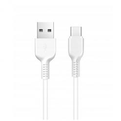 Mocny kabel lightning dla iPhone firmy HOCO 1m - Biały
