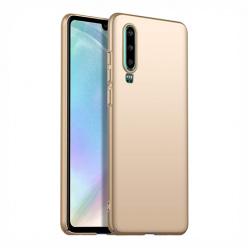 Etui na telefon Huawei P30 - Slim MattE - Złoty.