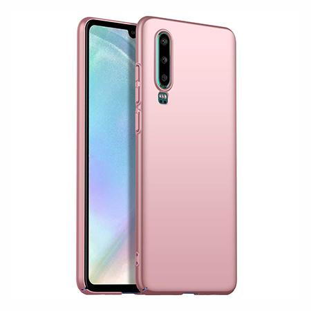 Etui na telefon Huawei P30 - Slim MattE - Różowy.
