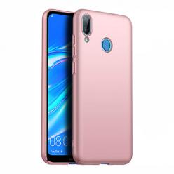 Etui na telefon Huawei Y7 2019 - Slim MattE - Różowy.