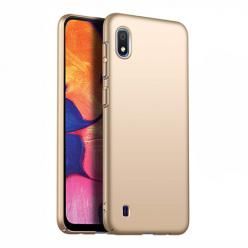 Etui na telefon Samsung Galaxy A10 - Slim MattE - Złoty.