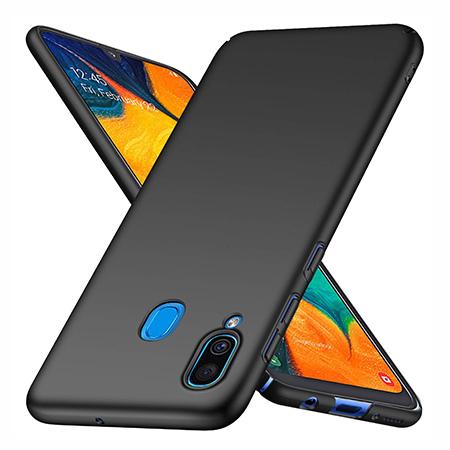 Etui na telefon Samsung Galaxy A30 - Slim MattE - Czarny.