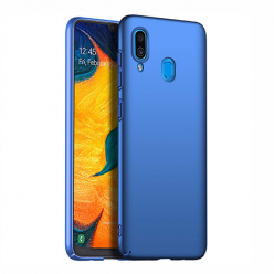 Etui na telefon Samsung Galaxy A20 - Slim MattE - Niebieski.