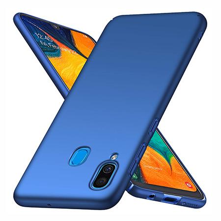 Etui na telefon Samsung Galaxy A30 - Slim MattE - Niebieski.