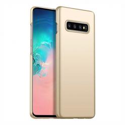 Etui na telefon Samsung Galaxy S10 - Slim MattE - Złoty.