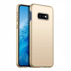 Etui na telefon Samsung Galaxy S10e - Slim MattE - Złoty.