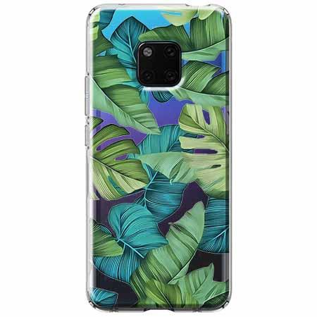 Etui na Huawei Mate 20 Pro - Egzotyczne liście
