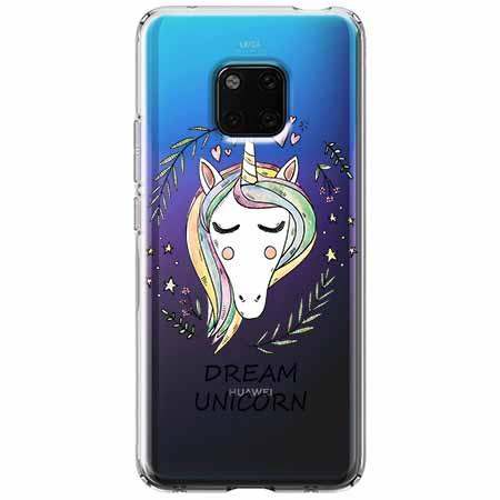 Etui na Huawei Mate 20 Pro - Dream unicorn - Jednorożec.