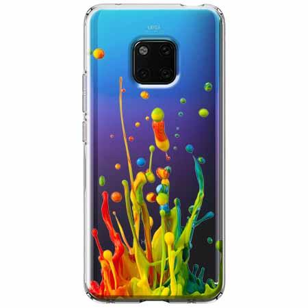 Etui na Huawei Mate 20 Pro - Kolorowy splash.