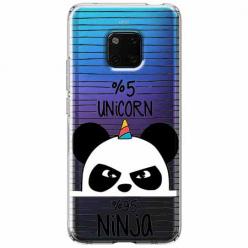 Etui na Huawei Mate 20 Pro - Ninja Unicorn - Jednorożec.