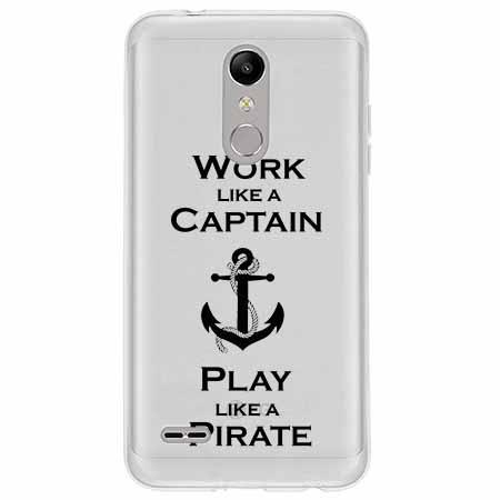 Etui na LG K10 2018 - Work like a Captain…