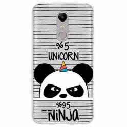 Etui na LG K10 2018 - Ninja Unicorn - Jednorożec.